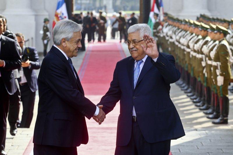 Mahmud Abbas, Sebastian Pinera