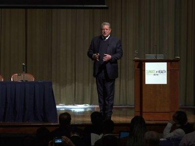 Al Gore Opens Climate & Health Meeting in Ga.