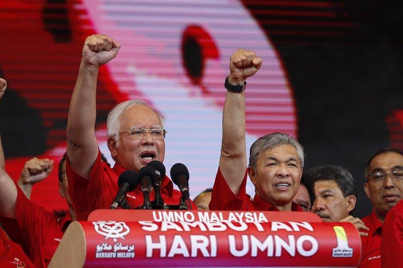 Najib Razak, Ahmad Zahid Hamid