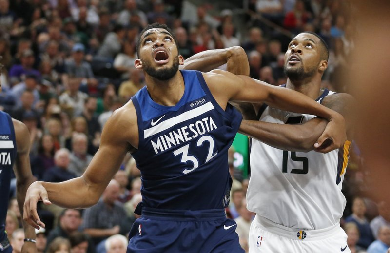 Karl-Anthony Towns, Derrick Favors