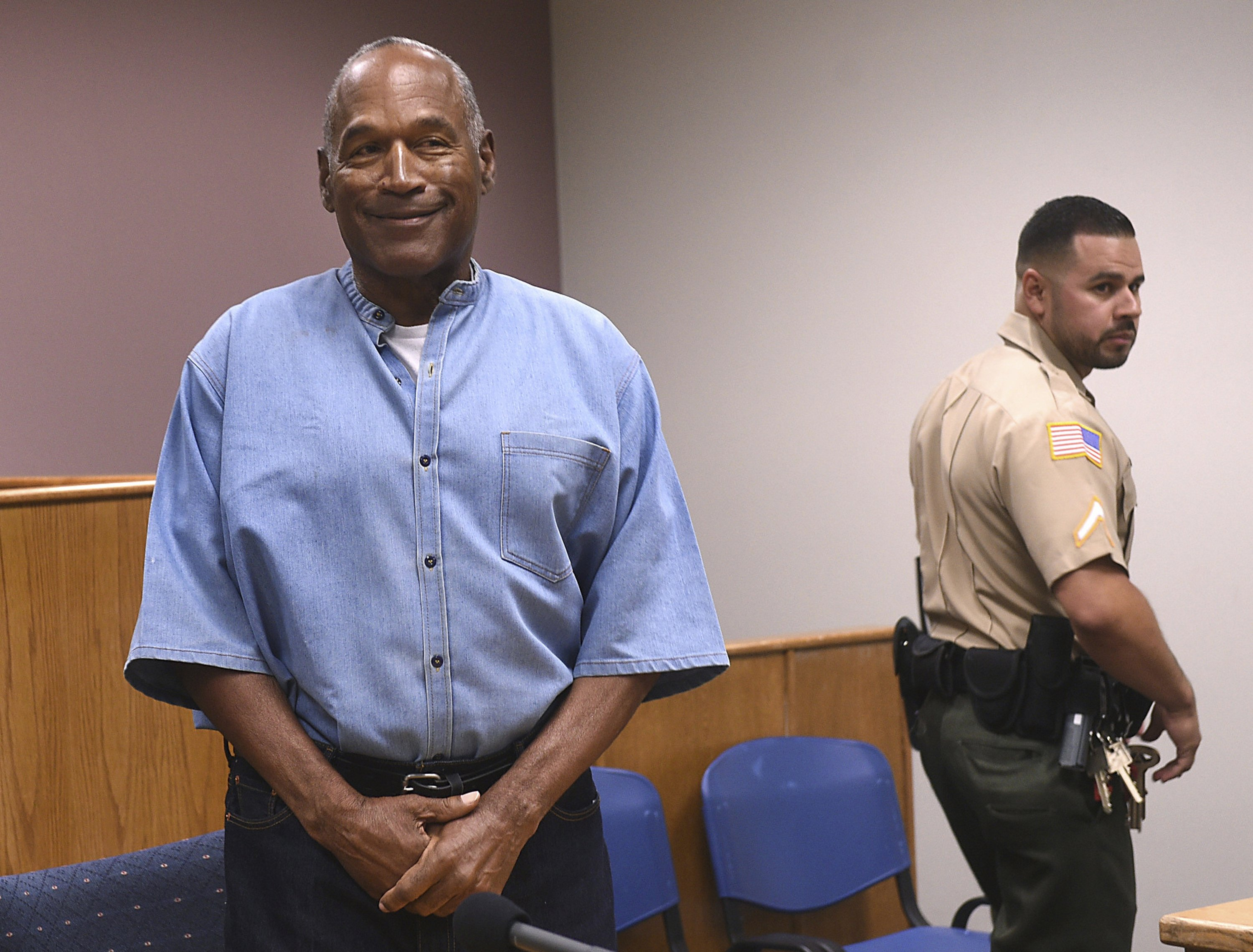 Prison official: OJ Simpson moving toward release in Nevada