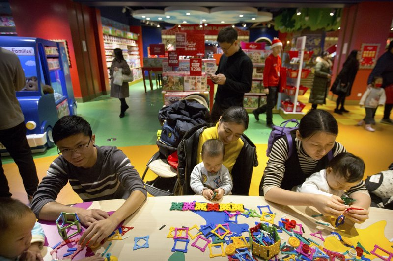 China's birthrate dropped despite allowing 2-child families