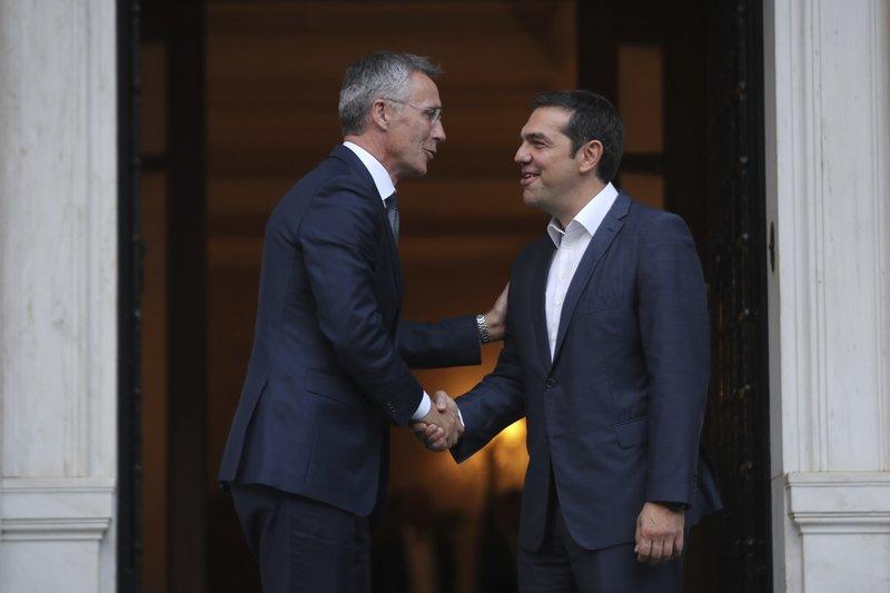 Alexis Tsipras, Jens Stoltenberg