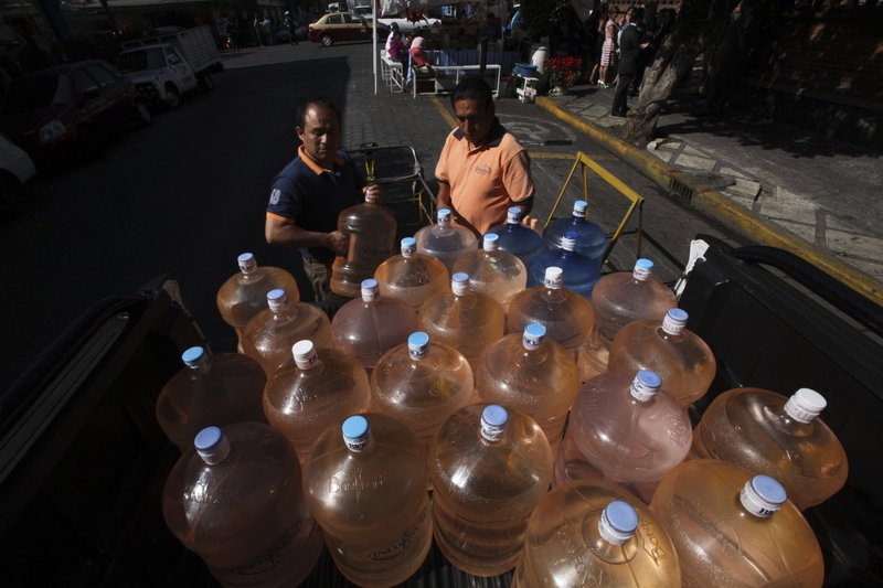 Mexico City water cutoffs worsened by sabotage