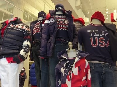 Team USA parade uniforms include touch of American frontier