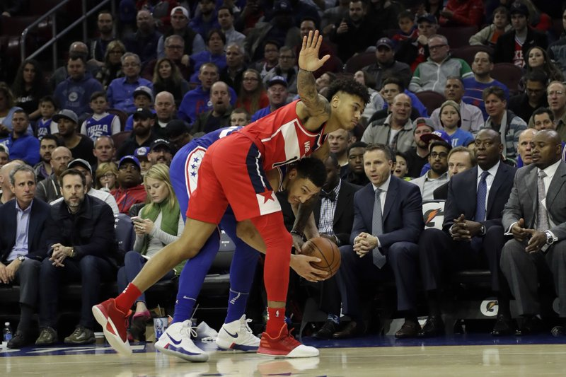 Ben Simmons, Kelly Oubre Jr.