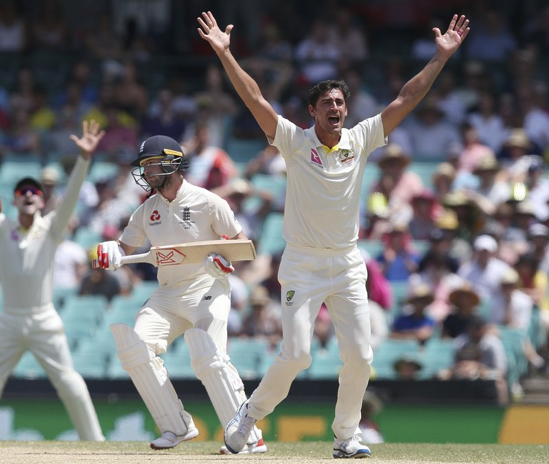 Mitchell Starc, Mark Stoneman