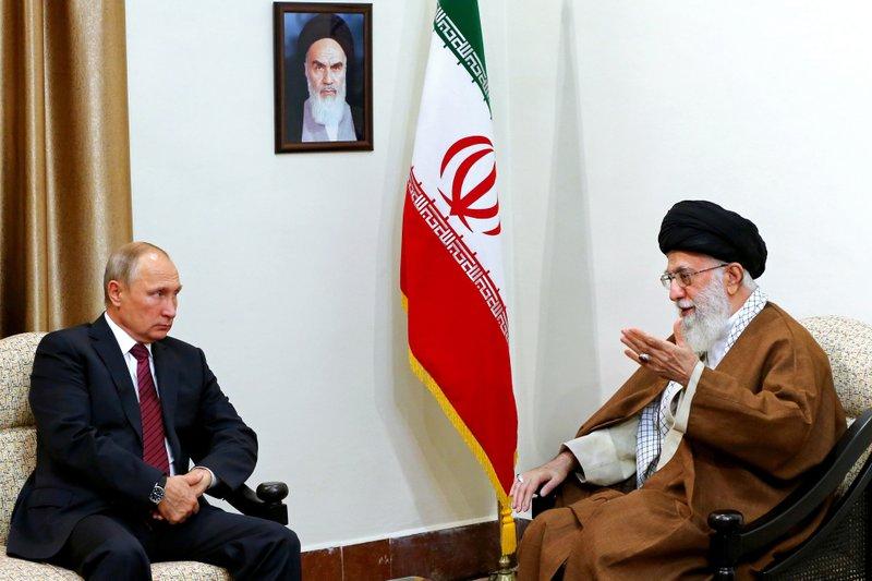Vladimir Putin, Ali Khamenei