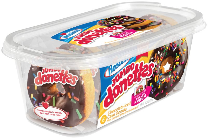 Hostess® Scores a Hole in One with Launch of Jumbo Donettes®