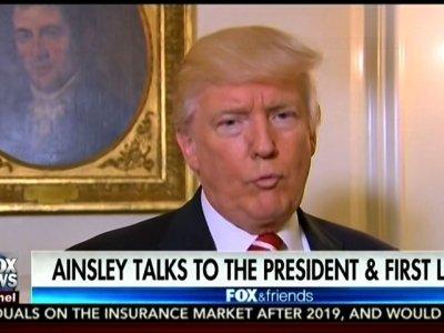 Trump Talks Health Care, Pelosi, Comey