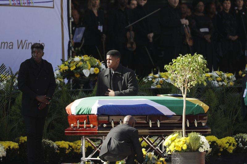 Winnie!' South Africa bids farewell to Madikizela-Mandela