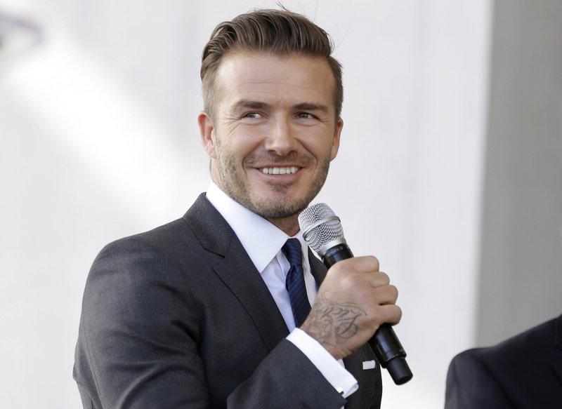 David Beckham, Carlos Gimenez
