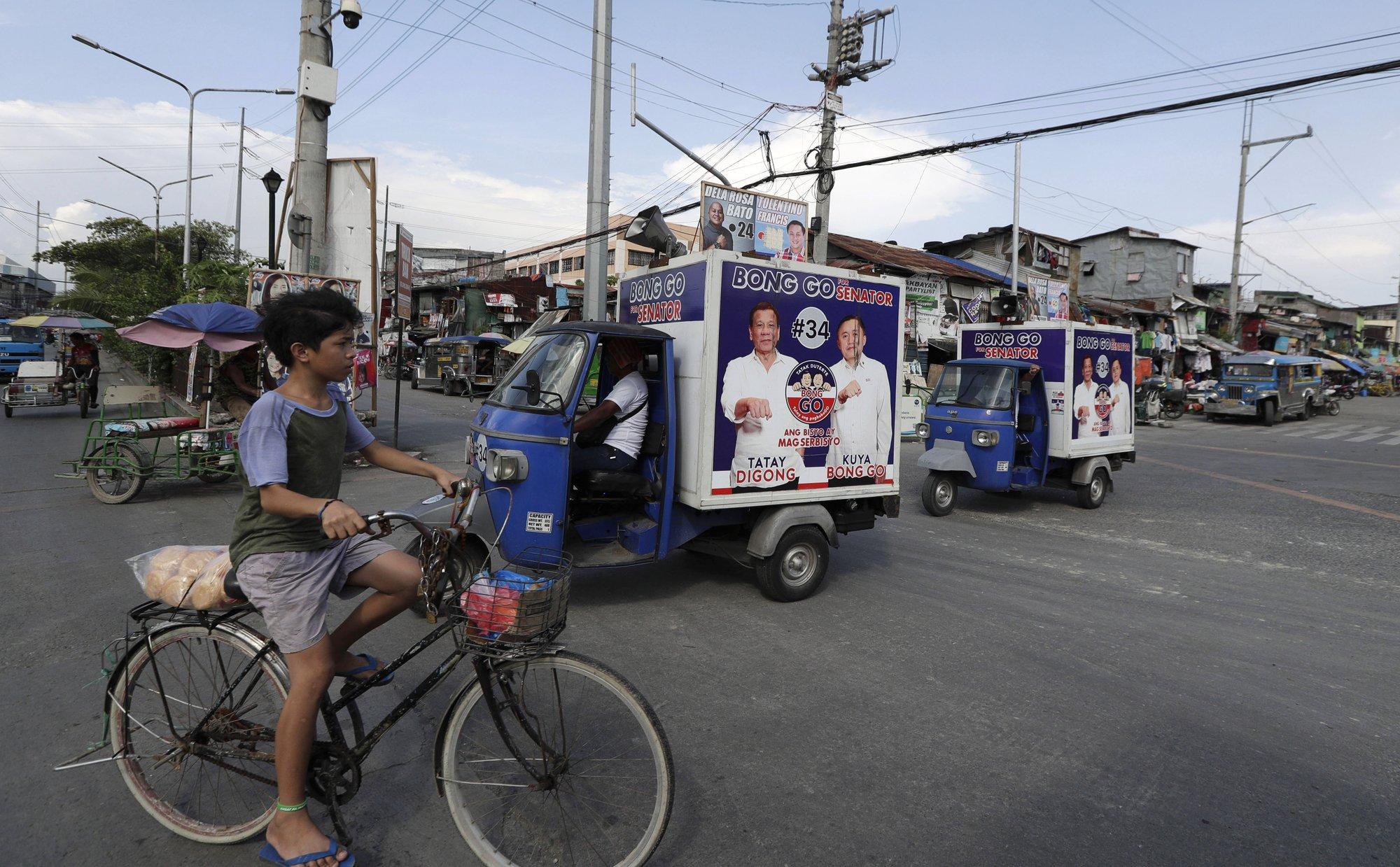 Duterte allies seek to dominate Philippine midterm polls