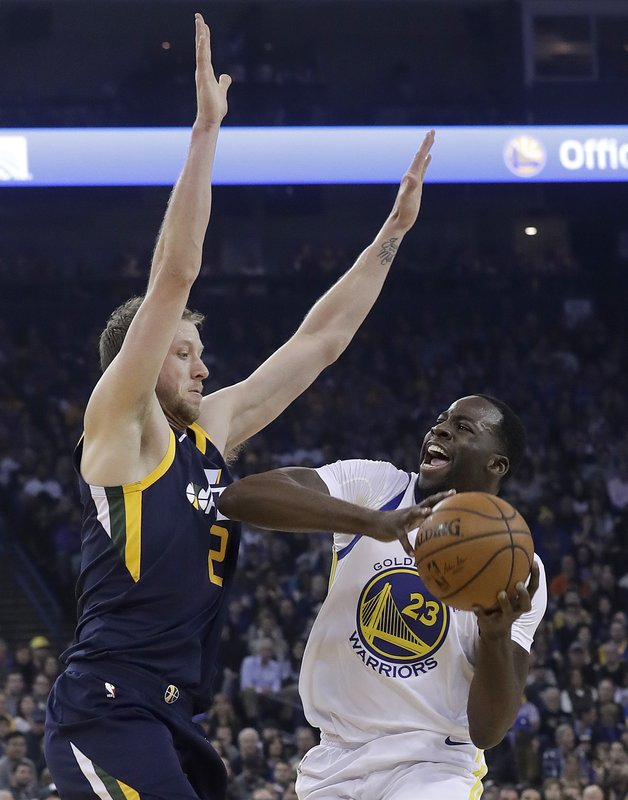 Draymond Green, Joe Ingles