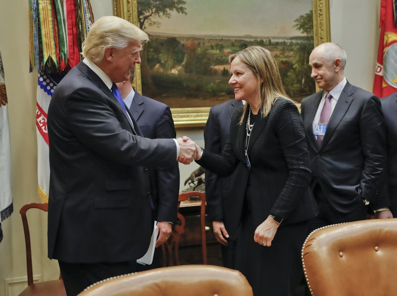 Donald Trump, Mary T. Barra