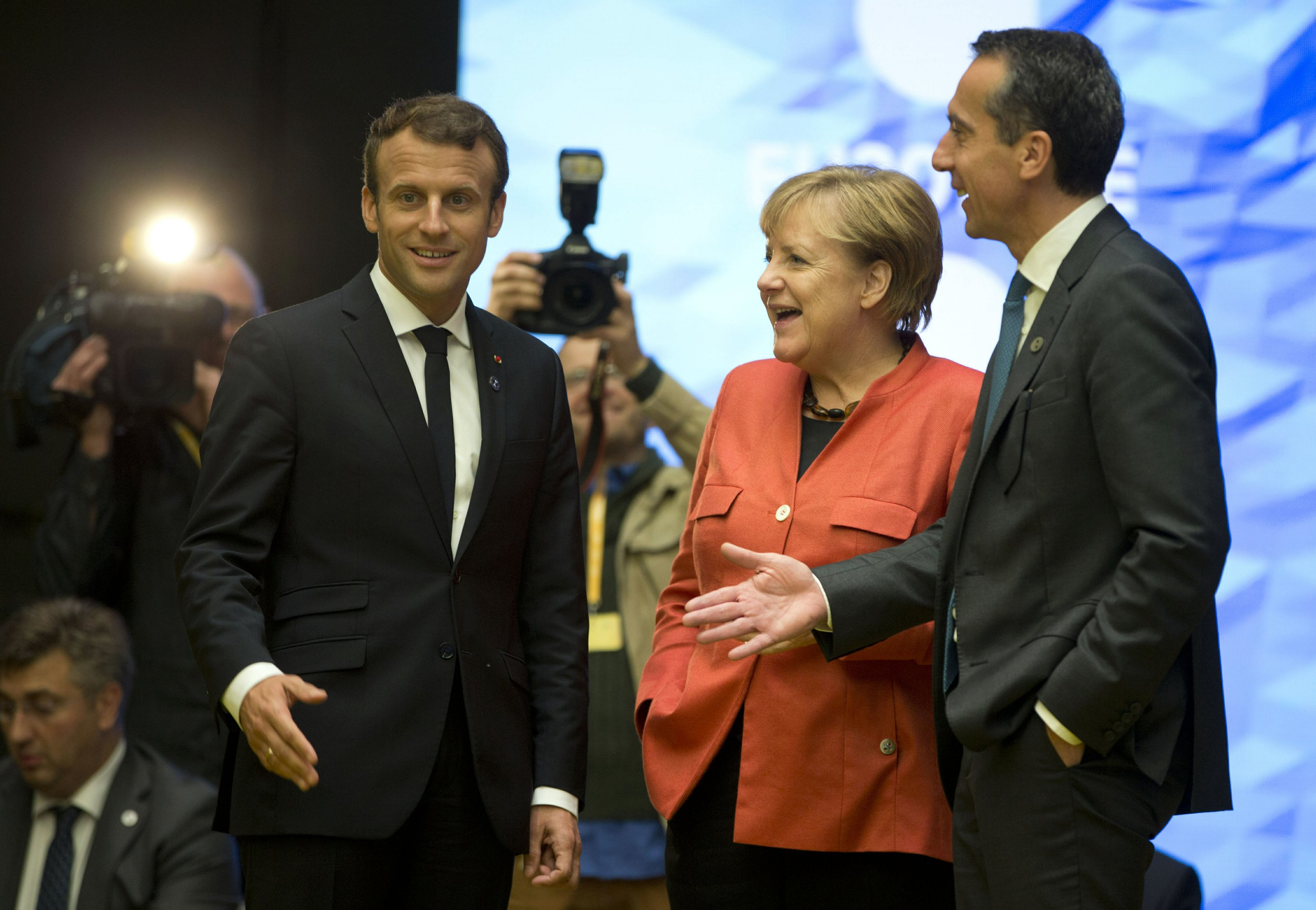 EU moves ahead faster on new future than on Brexit talks