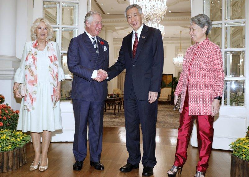 Charles, Lee Hsien Loong, Camilla