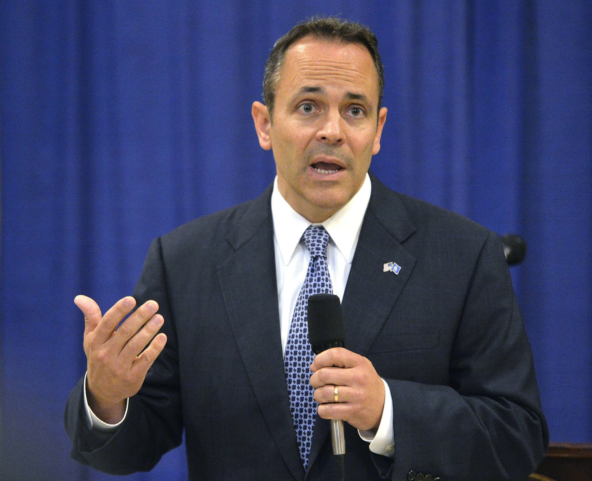 Kentucky governor faces voters after tumultuous term