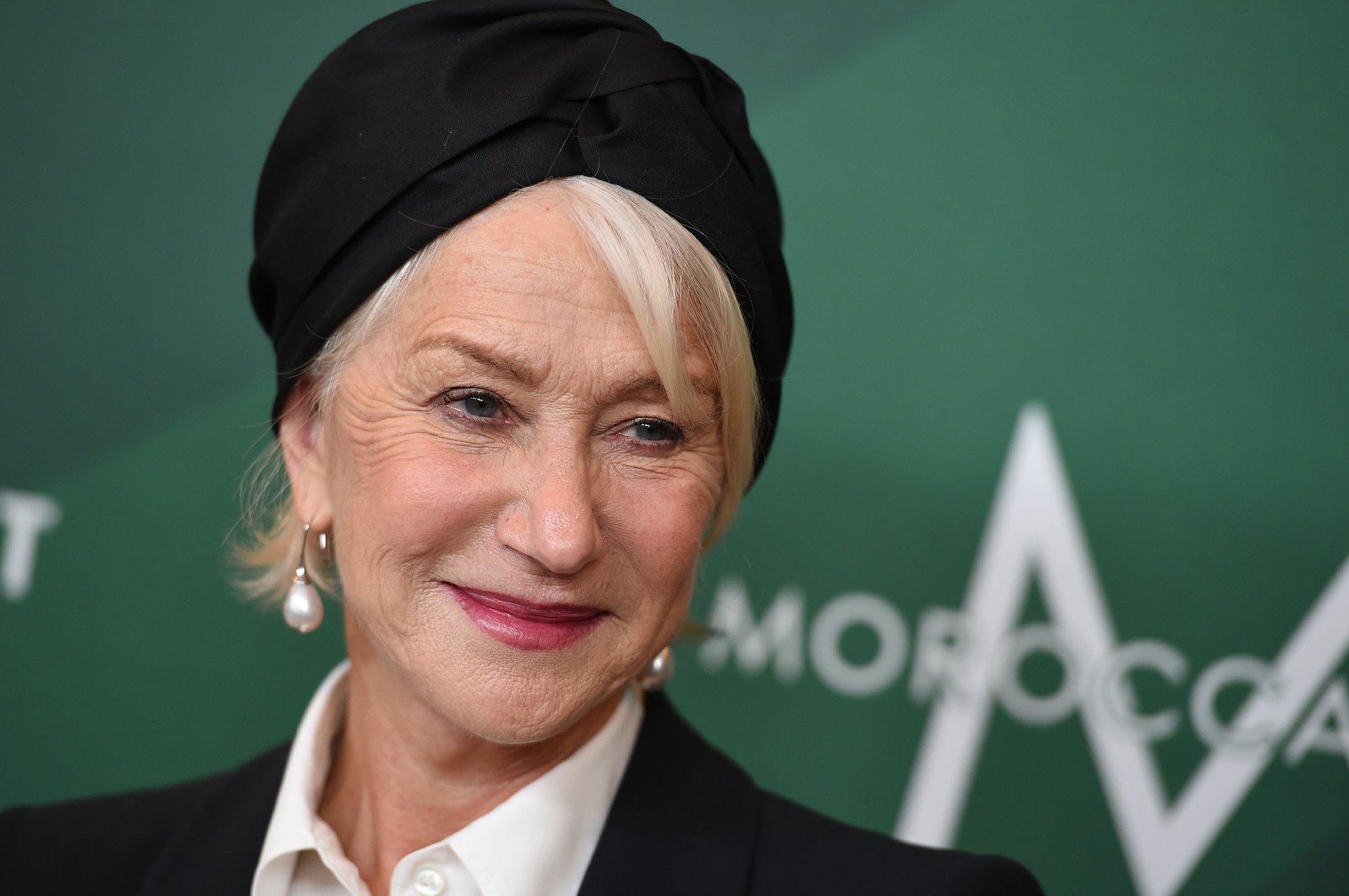 Helen Mirren calls on women to change the future by voting