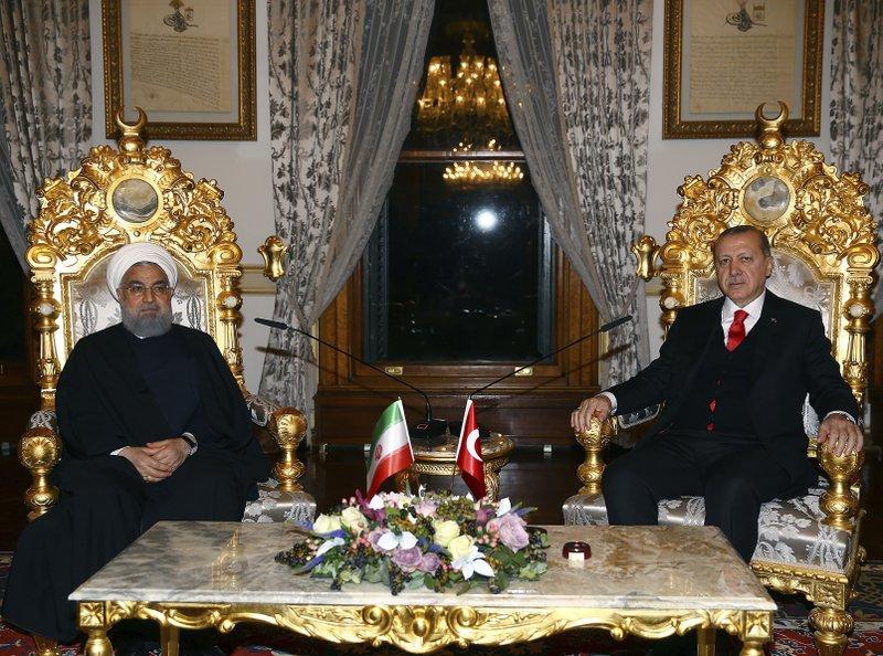 Recep Tayyip Erdogan, Hassan Rouhani