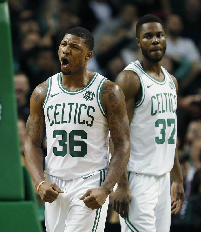 Marcus Smart, Semi Ojeleye