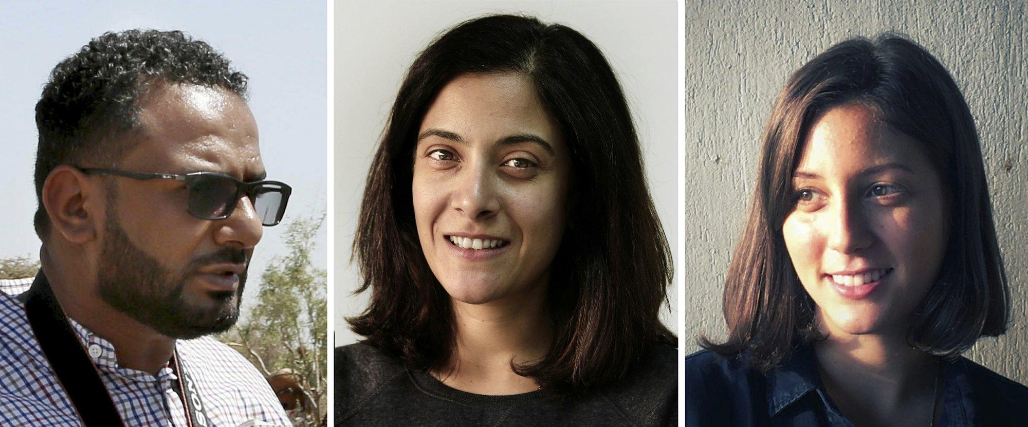 Maad al-Zikry, Maggie Michael, Nariman El-Mofty