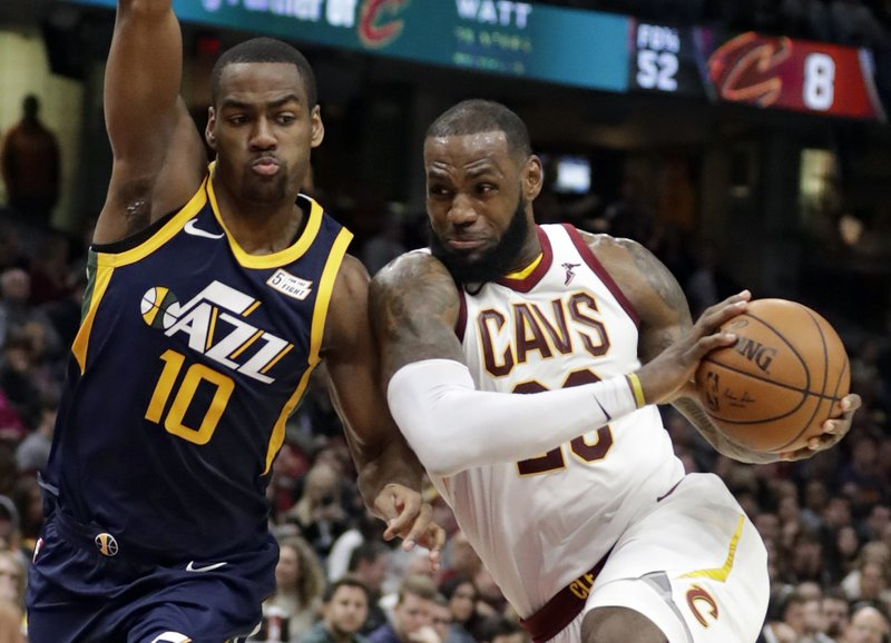 Alec Burks, LeBron James
