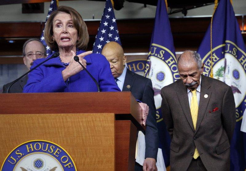 John Conyers, Nancy Pelosi