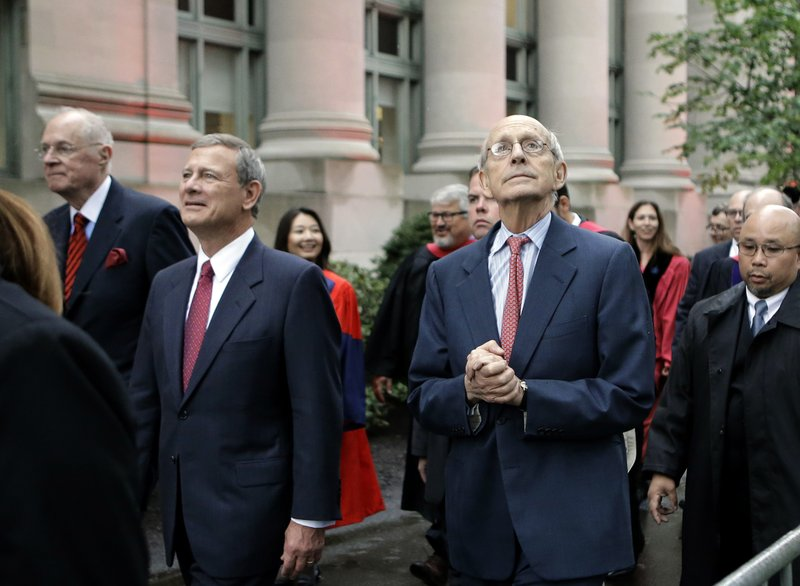 Anthony Kennedy, John Roberts, Stephen Breyer