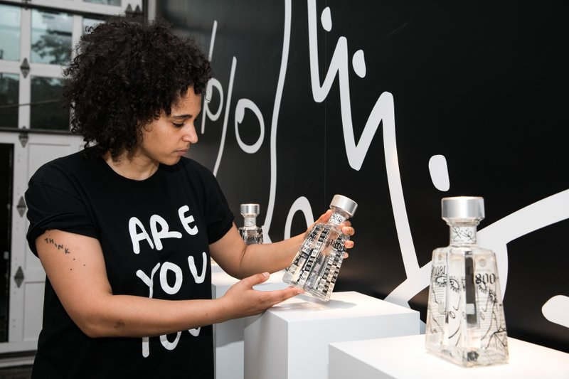1800 Tequila Releases Ninth Edition of The Essential 1800 Artists Series In Collaboration With Visual Artist Shantell Martin