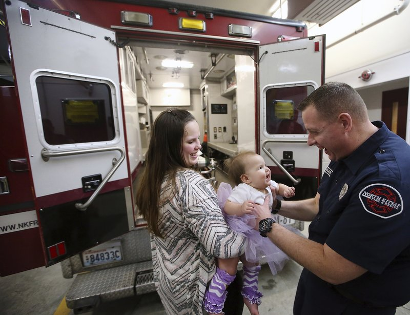 Baby is healthy 1 year after ambulance delivery in snowstorm