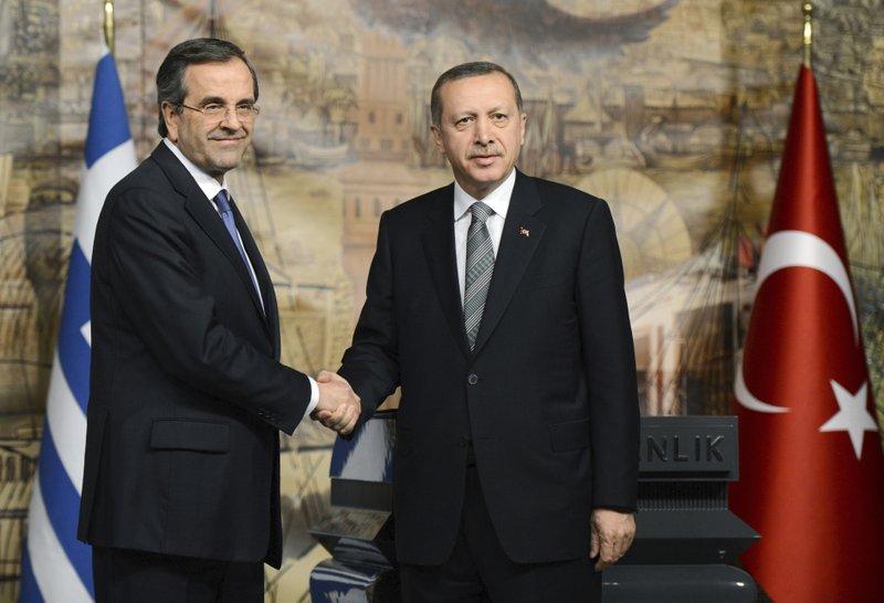 Antonis Samaras, Recep Tayyip Erdogan