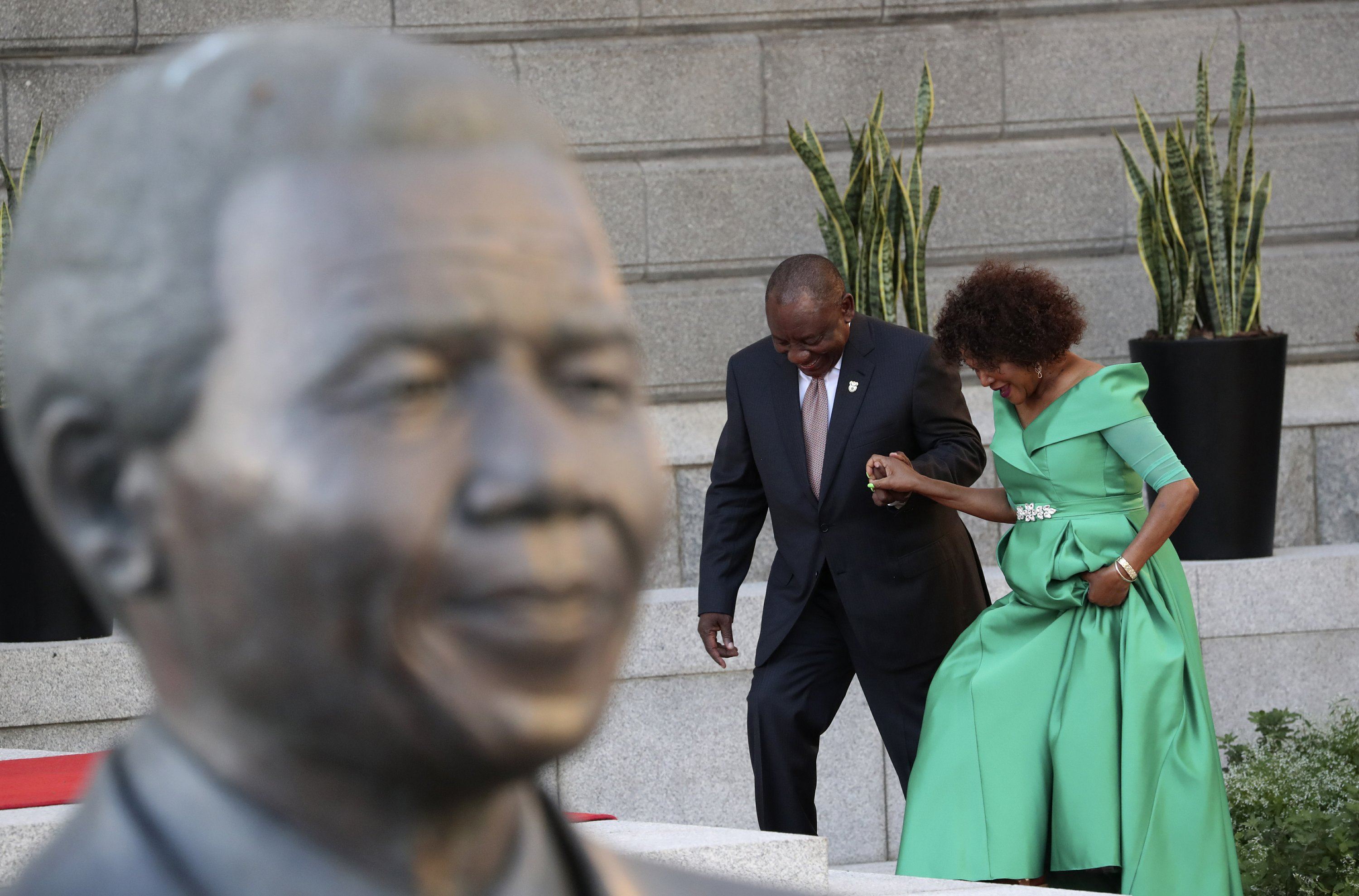 South Africa Leader In National Speech Looks Toward Election