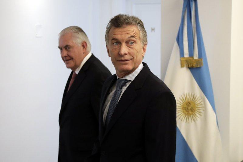 Rex Tillerson, Mauricio Macri