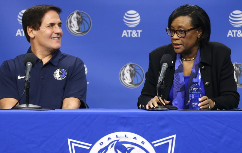 Mark Cuban; Cynthia Marshall