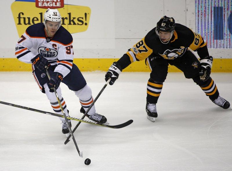 Connor McDavid, Sidney Crosby