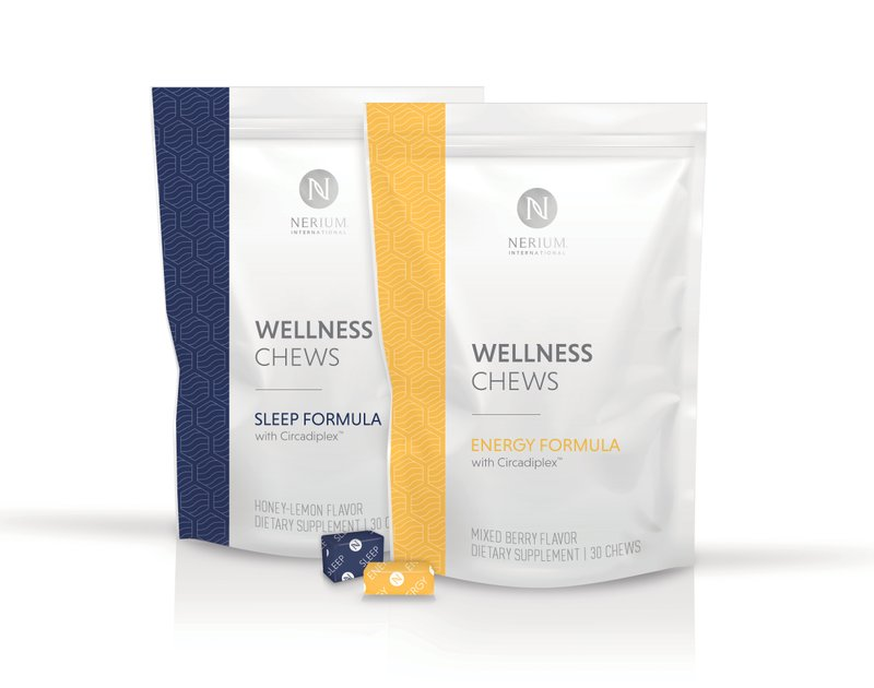 Nerium International Introduces Wellness Chews with Circadiplex™ in Energy and Sleep Formulas