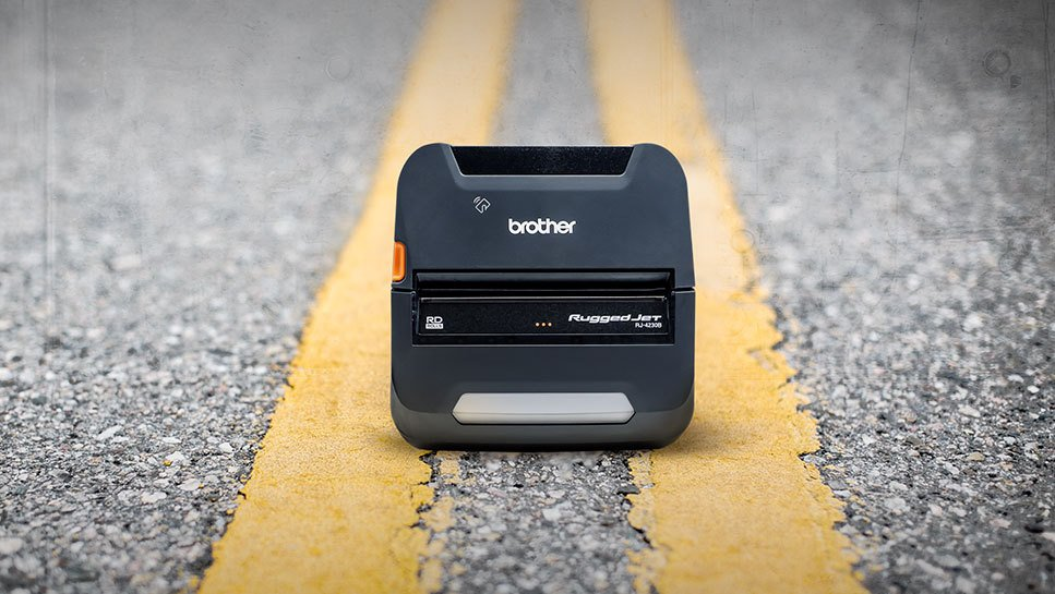 Groundbreaking New Brother RuggedJet RJ4200 Mobile Printer Raises the Bar on Performance, Innovative Features, Fast-Path Mobile Deployment