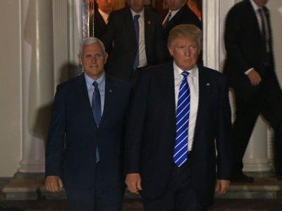 Trump Back-Pedals on Clinton Probe, Meets Media