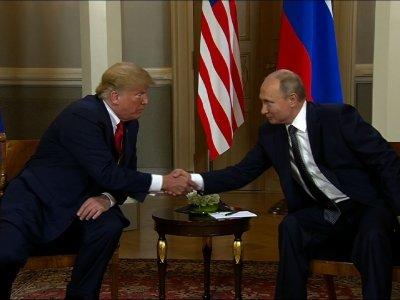 Trump, Putin Start Summit in Helsinki