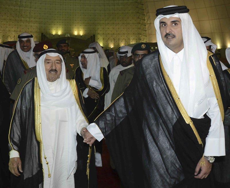 Sabah Al Ahmad Al Sabah, Tamim bin Hamad Al Thani