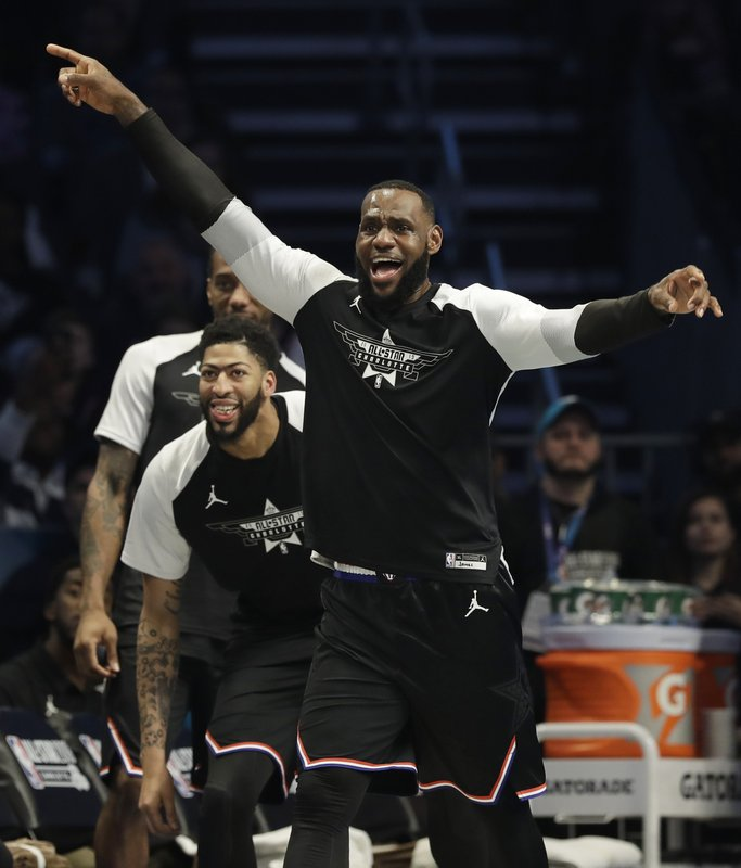 info for 80738 95c3d The Latest: Team LeBron rallies, wins All-Star game 178-164