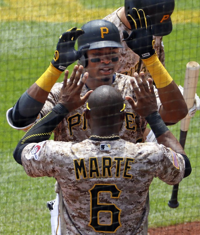 Gregory Polanco, Starling Marte