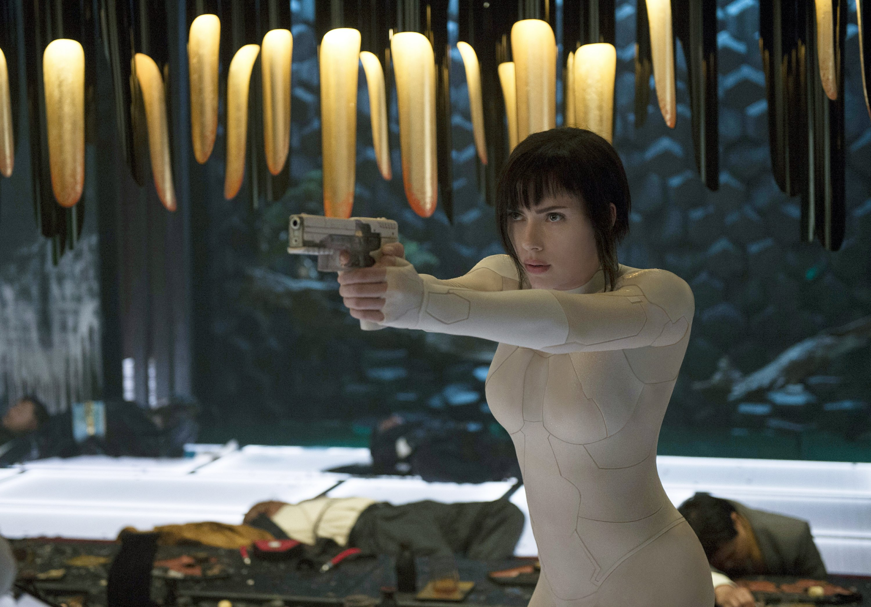 Review Dazzling Ghost In The Shell Is Lost In Translation