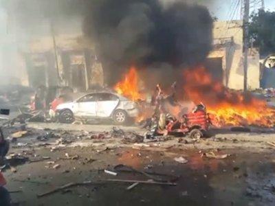 Police: Truck Bomb Kills 20 in Somalia's Capital