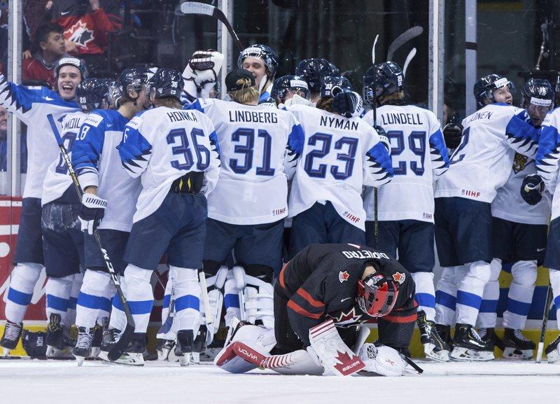 Canada Sweden Fall In World Junior Quarterfinals
