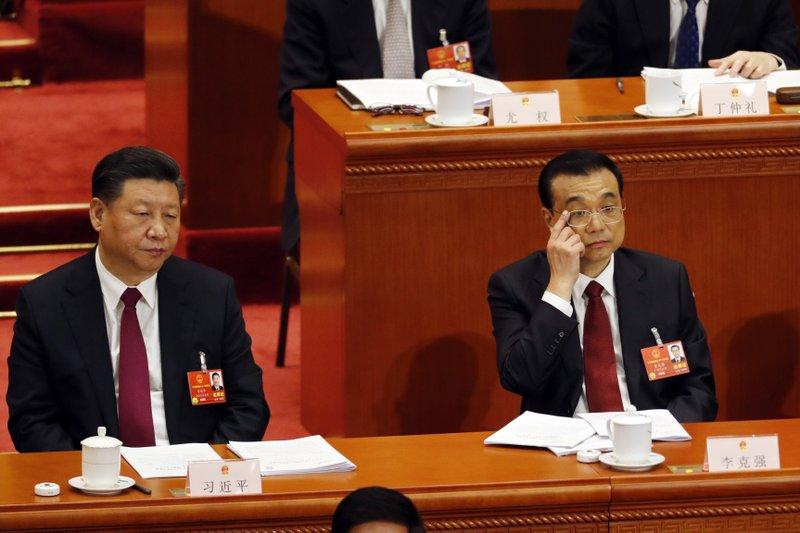 Li Keqiang, Xi Jinping