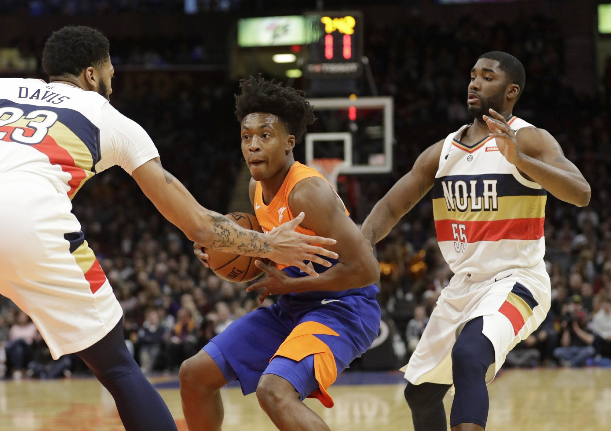 42f14b8a4 Pelicans send Cavaliers to 9th straight loss