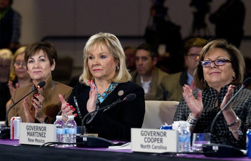 Susana Martinez, Kim Reynolds, Mary Fallin