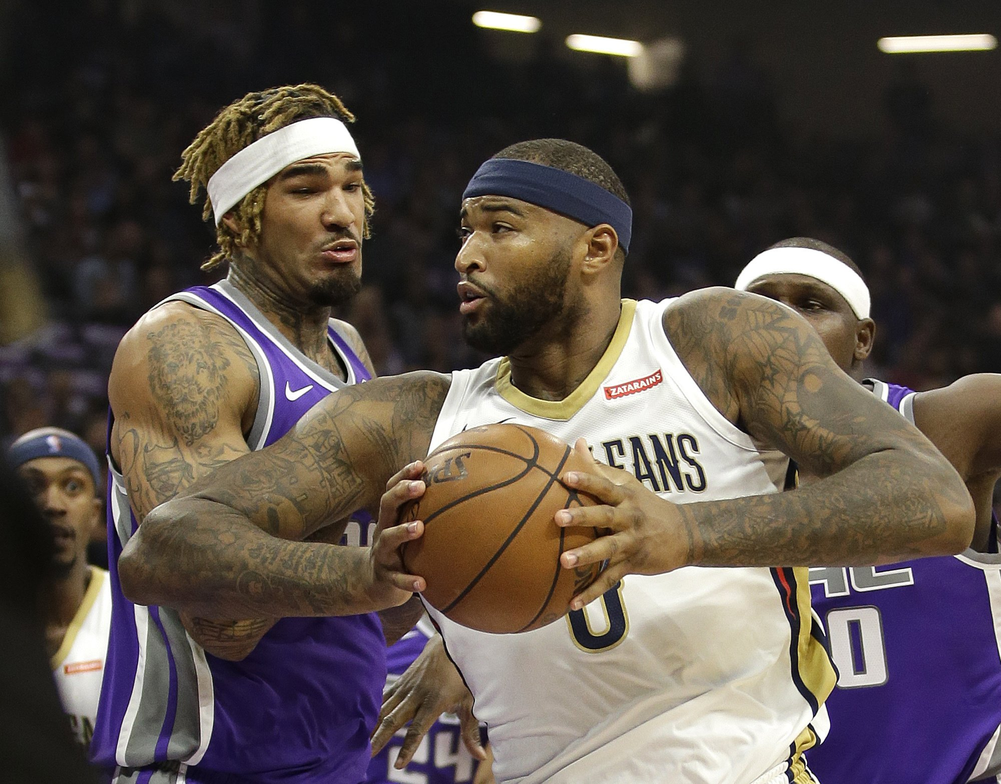 Cousins has 41 and 23 in Sacramento return, Pelicans rally